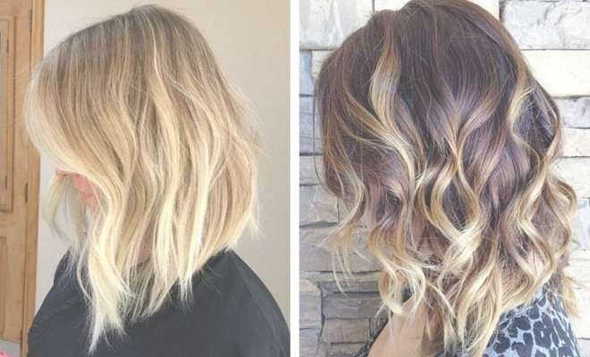 47 Hot Long Bob Haircuts And Hair Color Ideas | Stayglam With Bob Haircuts With Color (View 8 of 15)
