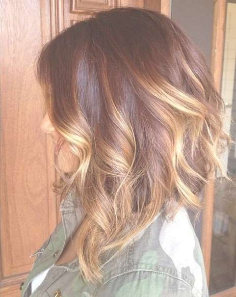 47 Hot Long Bob Haircuts And Hair Color Ideas | Stayglam Within Bob Haircuts With Color (View 3 of 15)