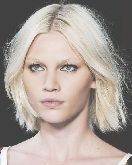 49 Best Blonde Hair Images On Pinterest | Hairstyle, Plaits And With Regard To Bleach Blonde Bob Hairstyles (View 5 of 15)