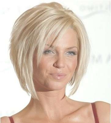 5 Popular Short Hairstyles For Round Face – Style Samba With Bob Haircuts For Fine Hair And Round Faces (View 15 of 15)