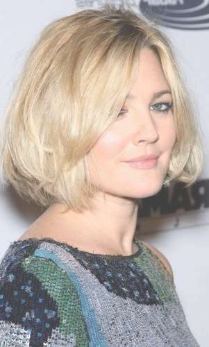 5 Textured Blonde Bob Hairstyles (Sexy Cut With Lots Of Movement Intended For Drew Barrymore Bob Hairstyles (View 11 of 15)