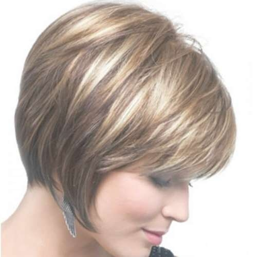 50 Alluring Short Haircuts For Thick Hair | Hair Motive Hair Motive Intended For Layered Bob Haircuts For Thick Hair (View 13 of 15)