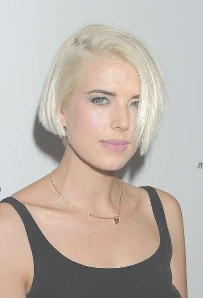 50 Bleach Blonde Hair Ideas From Celebrities | Operandi Moda For Bleach Blonde Bob Hairstyles (View 13 of 15)