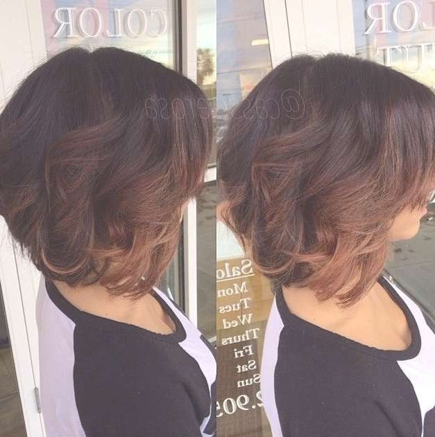 50 Hottest Ombre Hair Color Ideas For 2018 – Ombre Hairstyles With Bob Haircuts With Ombre Highlights (View 6 of 15)