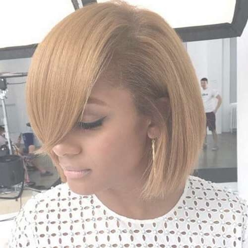 50 Lovely Black Hairstyles For African American Women | Hair Within Bob Haircuts African American Women (View 6 of 15)