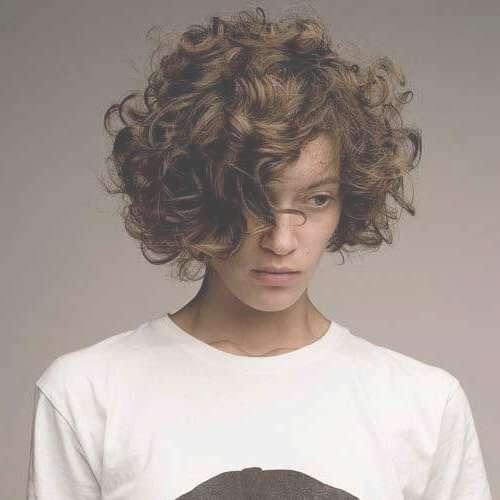 50 Ravishing Short Curly Hairstyles | Hair Motive Hair Motive Intended For Short Curly Bob Haircuts (View 12 of 15)