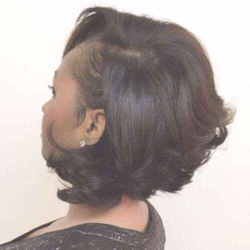 50 Sensational Bob Hairstyles For Black Women   Hair Motive Hair Regarding Layered Bob Haircuts Black Hair (View 6 of 15)