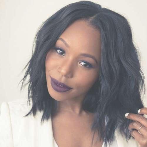 50 Sensational Bob Hairstyles For Black Women | Hair Motive Hair With Black Bob Hairstyles (View 13 of 15)
