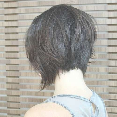 50 Trendy Inverted Bob Haircuts With Back View Layered Bob Haircuts (View 15 of 15)