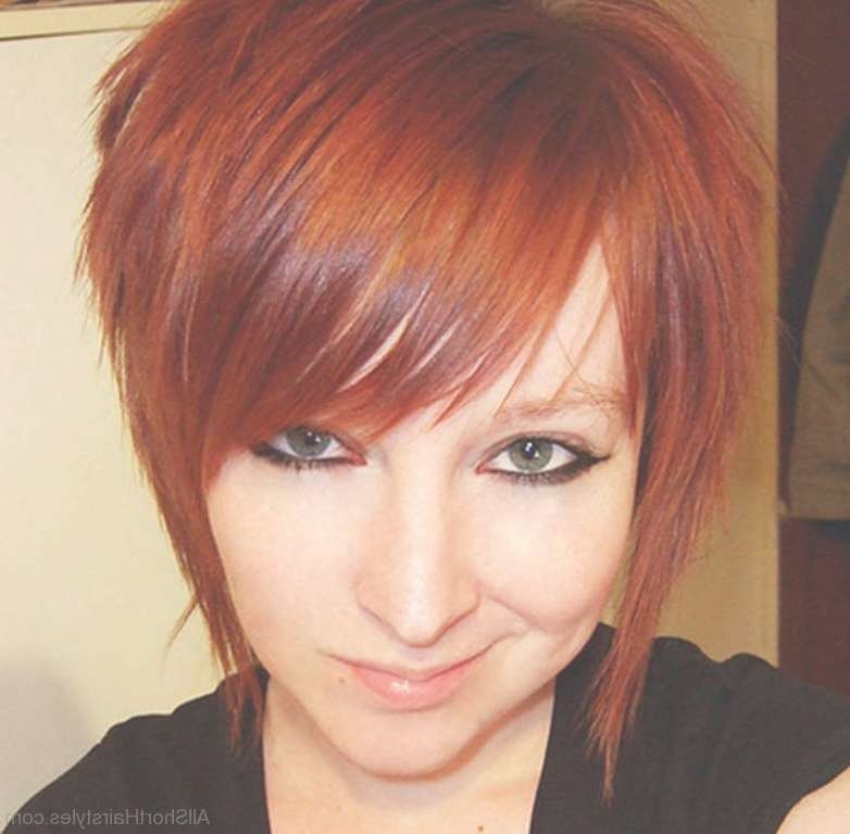 51 Cute Short Emo Hairstyles For Teens Regarding Emo Bob Haircuts (View 15 of 15)