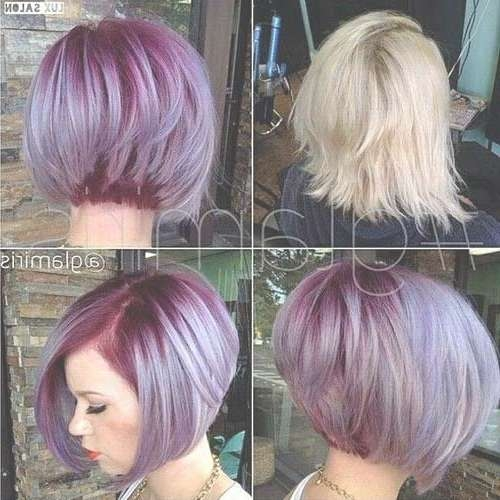 520 Best Cheveux Images On Pinterest | Hairstyles, 2015 Winter And With Hair Color For Bob Haircuts (View 11 of 15)