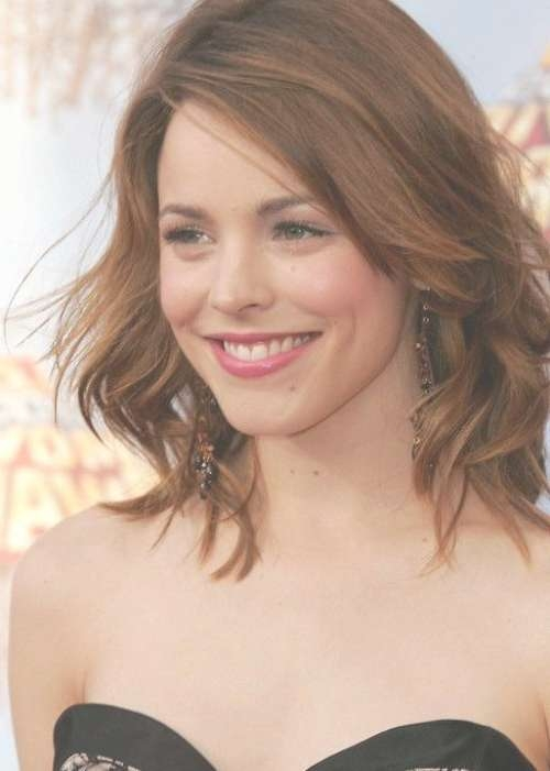55 Cute Bob Hairstyles For 2017: Find Your Look Throughout Long Bob Haircuts For Wavy Hair (View 10 of 15)