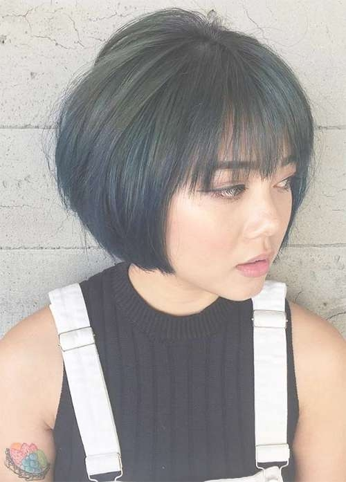 55 Incredible Short Bob Hairstyles & Haircuts With Bangs Pertaining To Short Bob Haircuts With Bangs (View 2 of 15)