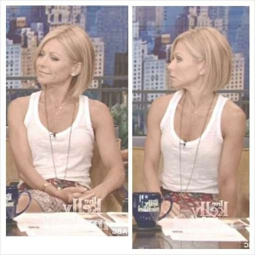 67 Best Kelly Ripa Hair Images On Pinterest | Angles, Apples And Bag For Kelly Ripa Bob Hairstyles (View 4 of 15)