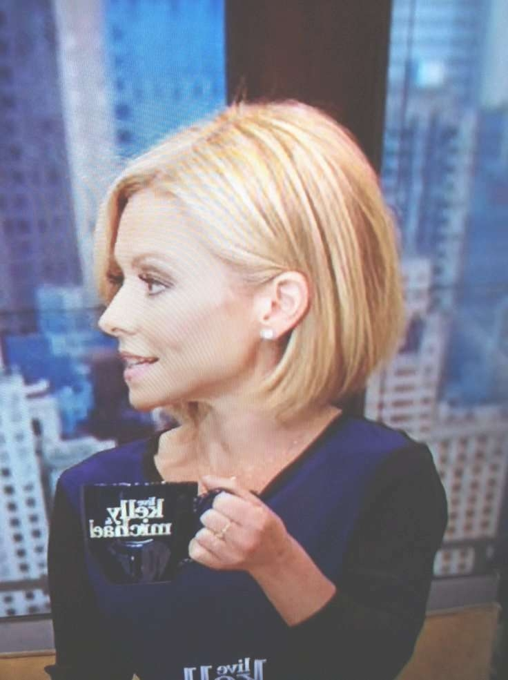 Featured Photo of Kelly Ripa Bob Hairstyles