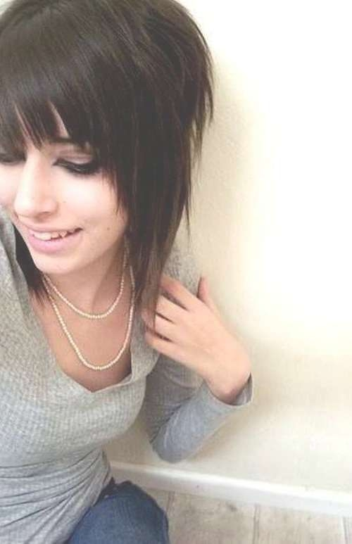 67 Emo Hairstyles For Girls: I Bet You Haven't Seen Before With Regard To Emo Bob Haircuts (View 10 of 15)