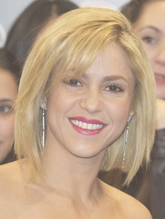 Displaying Photos Of Shakira Bob Haircuts View 3 Of 15 Photos