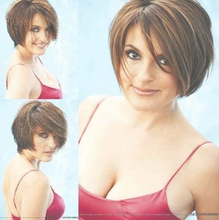 76 Best Hair Personality Images On Pinterest | Beautiful, Bobs And For Mariska Hargitay Short Bob Haircuts (View 14 of 15)