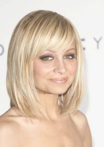 8 Best Haircut Images On Pinterest | Artists, Beautiful And Make Up Within Long Bob Haircuts With Bangs And Layers (Gallery 5 of 15)