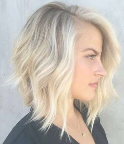 89 Of The Best Hairstyles For Fine Thin Hair For 2017 Regarding Bleach Blonde Bob Hairstyles (Gallery 10 of 15)