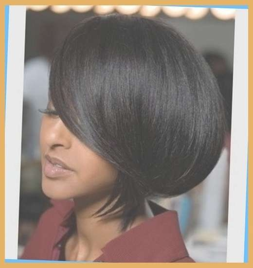 African American Layered Bob Hairstyles 2016 » Female Area With African American Bob Haircuts With Layers (View 10 of 15)