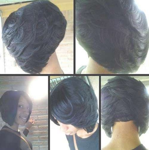 Amazing And Also Interesting African American Bob Haircuts With Intended For Layered Bob Haircuts Black Hair (View 10 of 15)