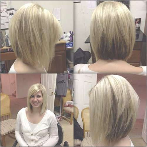 Angled Bobs With Bangs | Short Hairstyles 2016 – 2017 | Most Intended For Medium Length Bob Haircuts With Bangs (View 11 of 15)