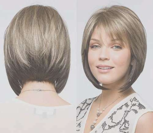 Angled Bobs With Bangs | Short Hairstyles 2016 – 2017 | Most Pertaining To Bob Haircuts With Bangs And Layers (View 9 of 15)