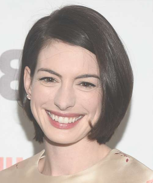 Anne Hathaway Hairstyles For 2018 | Celebrity Hairstyles In Anne Hathaway Bob Haircuts (View 8 of 15)