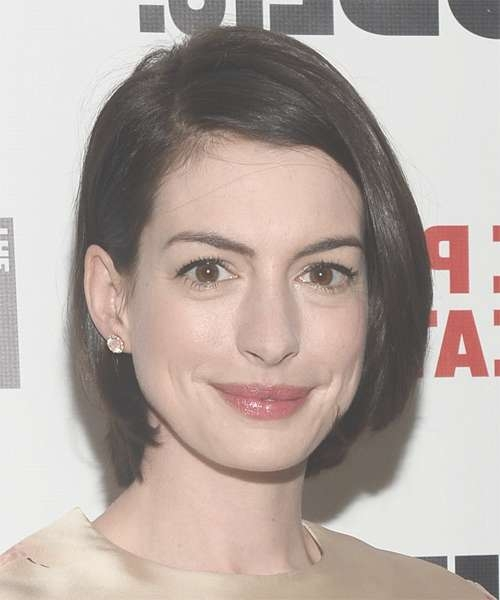 Anne Hathaway Hairstyles For 2018 | Celebrity Hairstyles In Anne Hathaway Bob Haircuts (View 6 of 15)