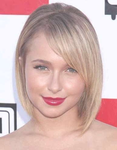 Asimetrice Bob Hairstyles For Chubby Faces – Latest Hair Styles With Regard To Cute Bob Haircuts For Round Faces (View 7 of 15)