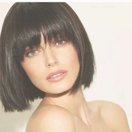 Beautiful Bob Hairstyles | Short Hairstyles 2016 – 2017 | Most Inside Bob Haircuts With Fringe (View 9 of 15)