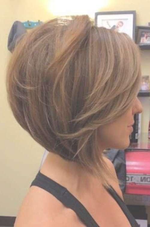 Beautiful Short Bob Hairstyles And Haircuts With Bangs With Regard To Women's Bob Haircuts (View 5 of 15)