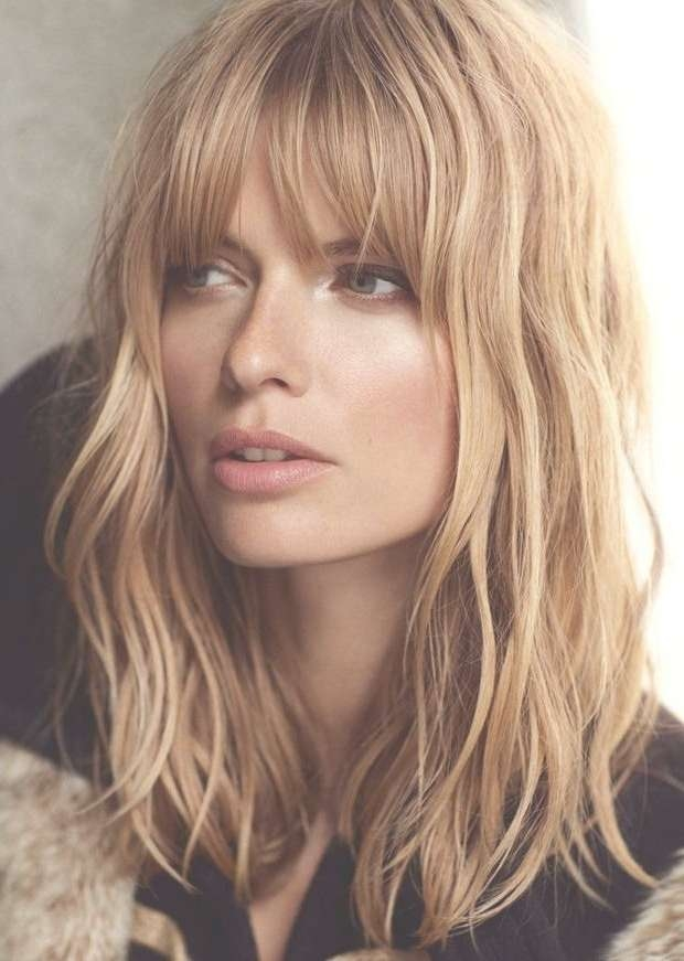 Best 25+ Bangs For Oval Faces Ideas On Pinterest | Hairstyles For Throughout Bob Haircuts With Bangs For Oval Faces (View 2 of 15)