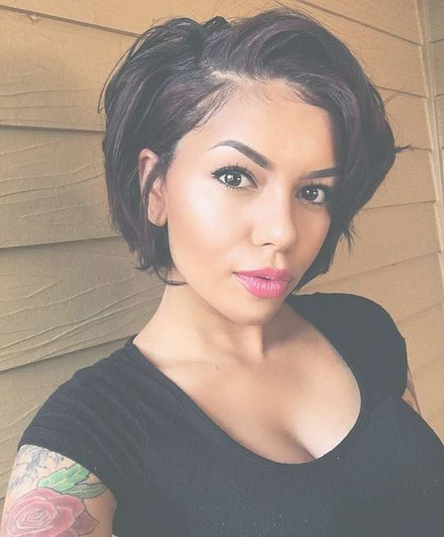Best 25+ Black Bob Hairstyles Ideas On Pinterest | Straight Black Throughout Bob Haircuts For African American (View 14 of 15)