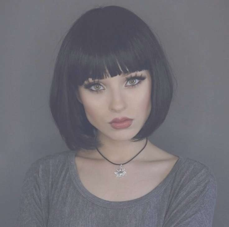 Featured Photo of Black Bob Haircuts With Bangs