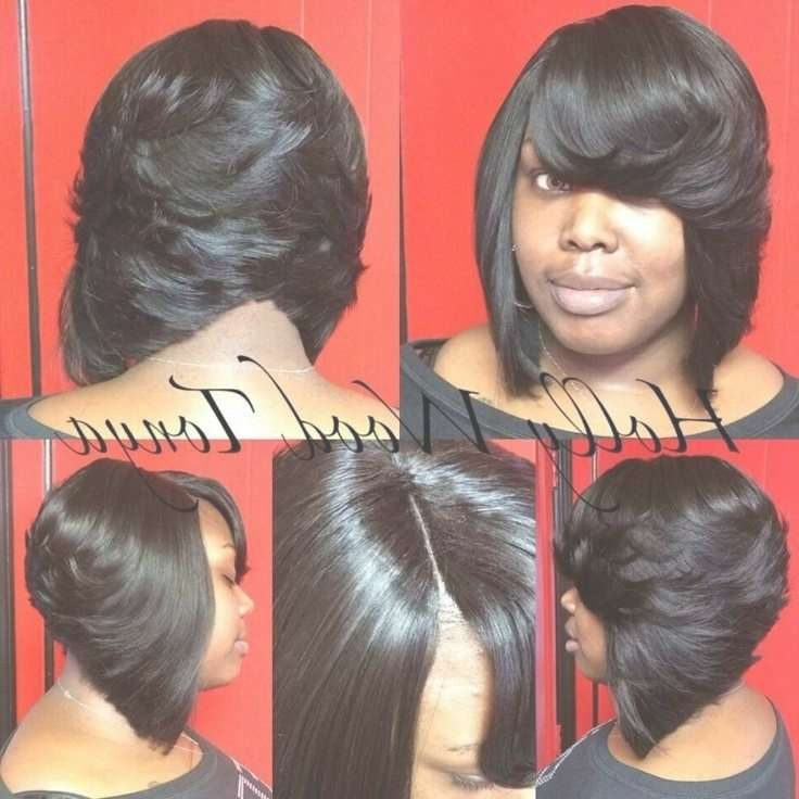 Best 25+ Black Layered Bob Hairstyles Ideas On Pinterest | Layered Regarding Black Layered Bob Haircuts (View 8 of 15)