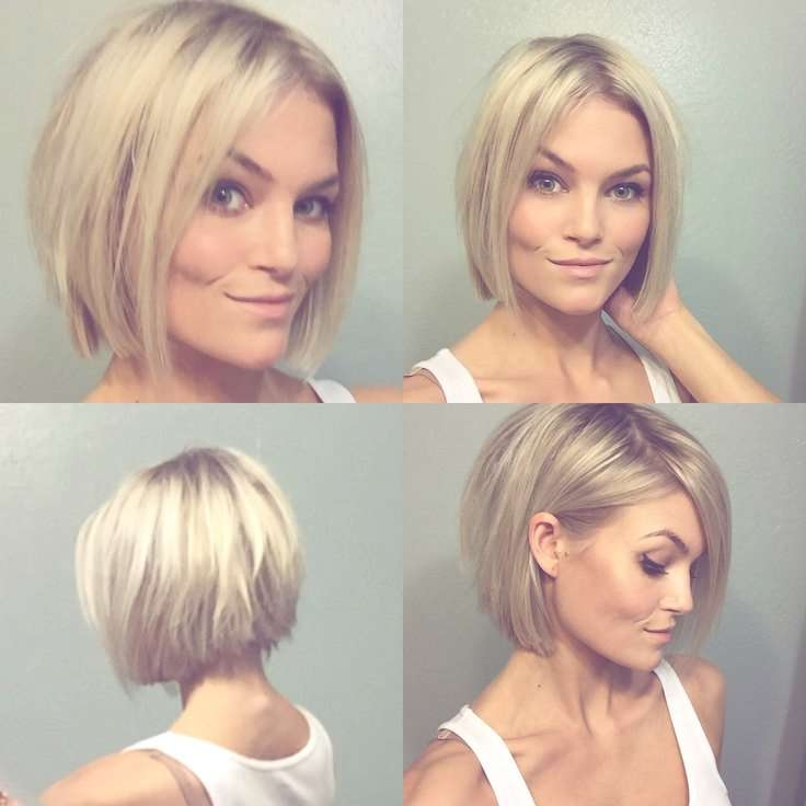 Showing Gallery Of Short Blonde Bob Haircuts View 6 Of 15 Photos