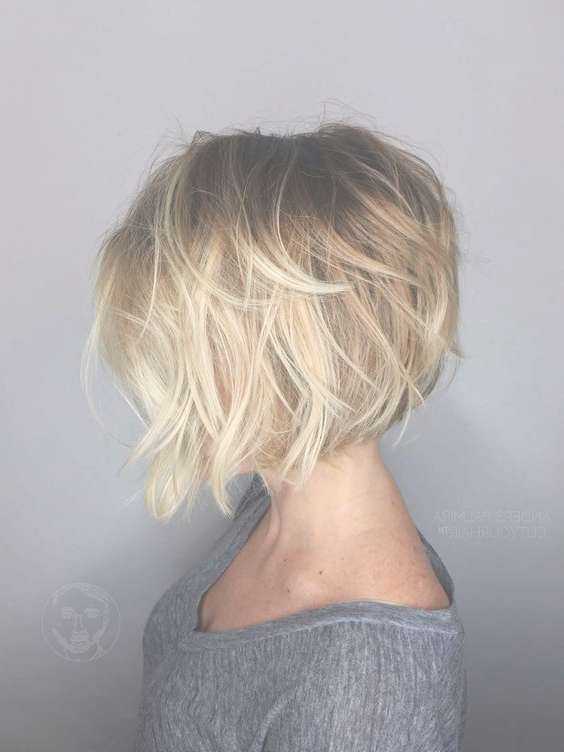 Best 25+ Blonde Bob Hairstyles Ideas On Pinterest | Blonde Bobs Throughout Best Blonde Bob Hairstyles (View 14 of 15)