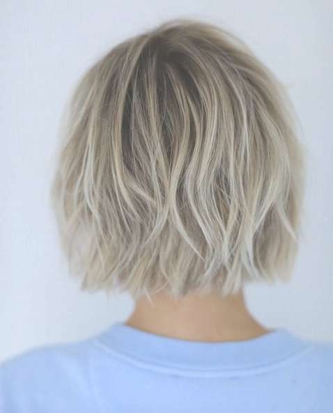 Best 25+ Blonde Bob Hairstyles Ideas On Pinterest | Blonde Bobs With Blonde Bob Hairstyles (View 9 of 15)