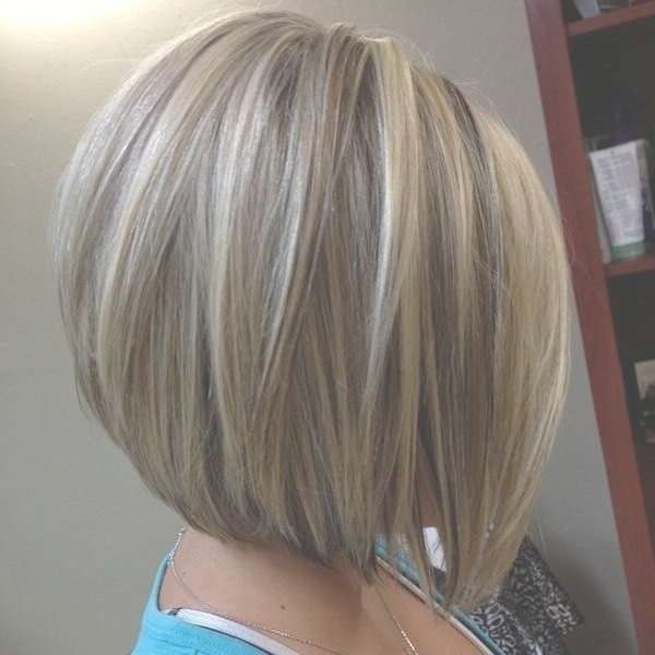 Best 25+ Blonde Highlights Bob Haircut Ideas On Pinterest | Blonde Regarding Bob Hairstyles With Blonde Highlights (View 2 of 15)