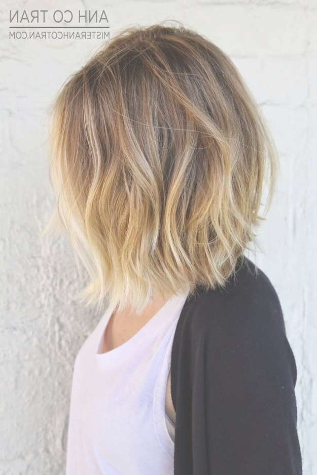 Best 25+ Blonde Ombre Lob Ideas On Pinterest | Balayage Lob Throughout Bob Haircuts With Ombre Highlights (View 12 of 15)