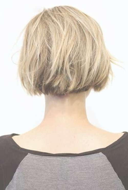 Best 25+ Bob Back View Ideas On Pinterest | Longer Layered Bob Intended For Back Views Of Short Bob Haircuts (View 5 of 15)