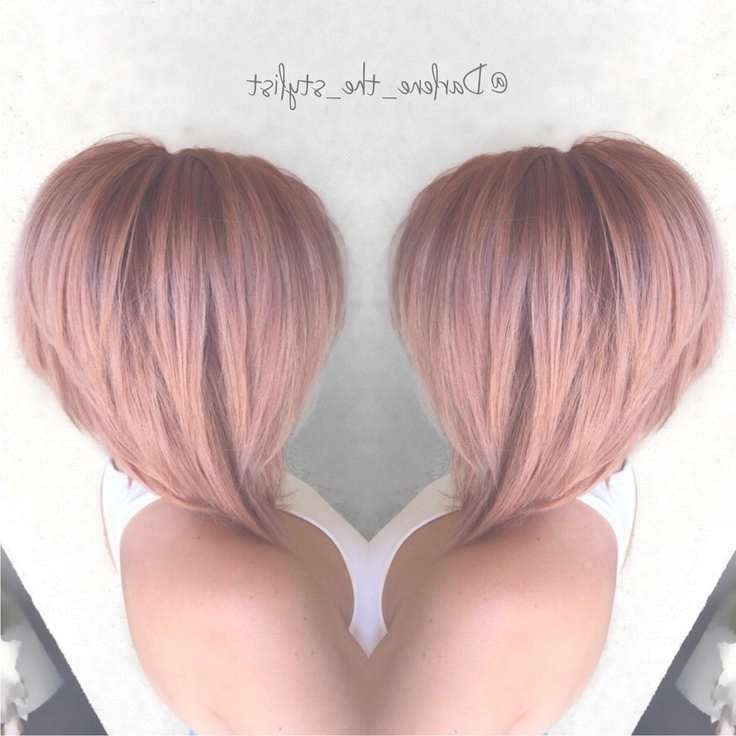 Best 25+ Bob Hair Color Ideas On Pinterest | Balayage Hair Bob In Bob Haircut Colors (View 10 of 15)