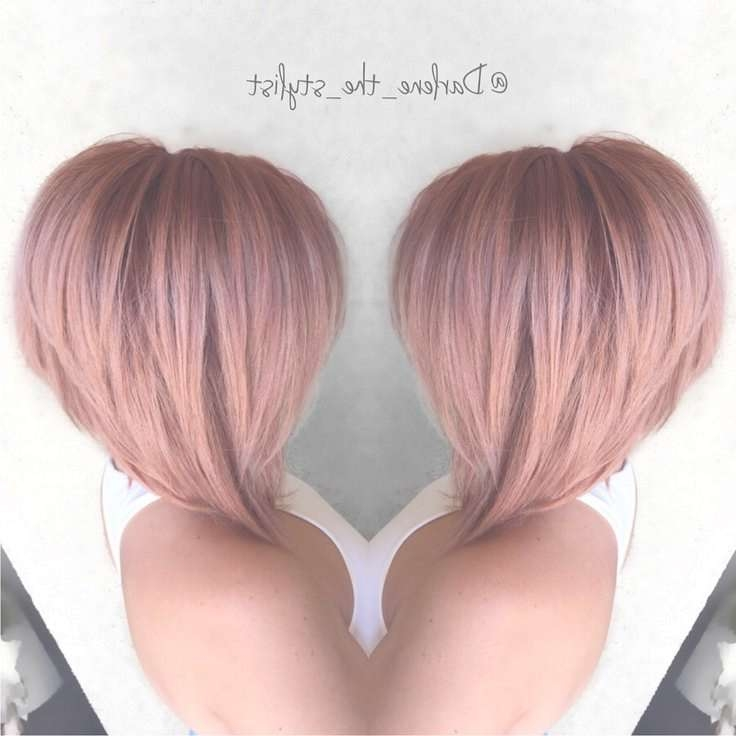 Best 25+ Bob Hair Color Ideas On Pinterest | Balayage Hair Bob Inside Bob Haircuts With Color (View 11 of 15)