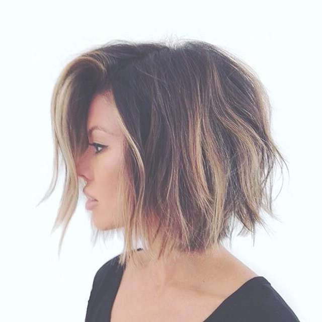 Best 25+ Bob Hair Color Ideas On Pinterest | Balayage Hair Bob With Regard To Bob Hairstyles And Colors (View 9 of 15)