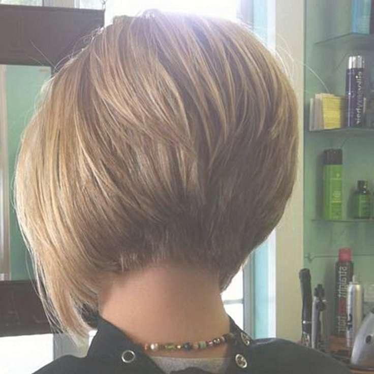 Best 25+ Bob Haircut Back Ideas On Pinterest | Shorter Length Hair With Back Views Of Short Bob Haircuts (View 2 of 15)