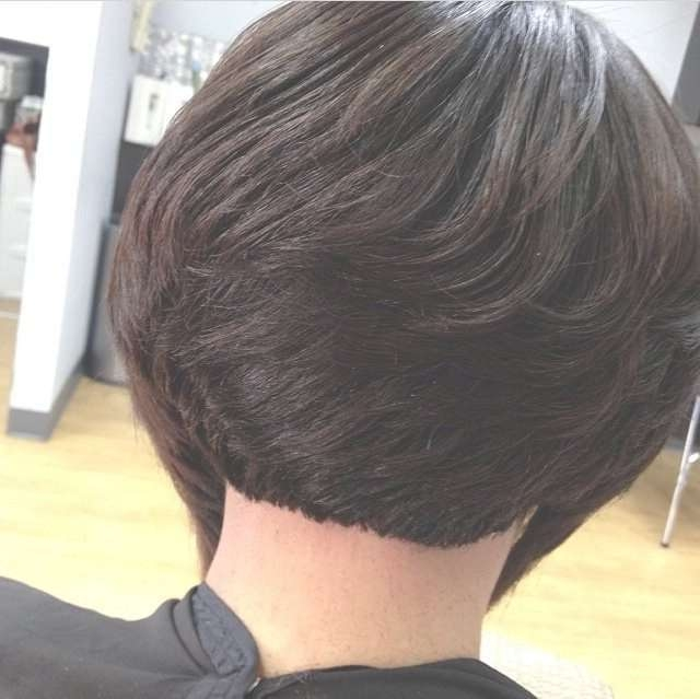 Best 25+ Bob Haircut Back Ideas On Pinterest | Shorter Length Hair With Bob Haircuts Back And Front View (View 15 of 15)
