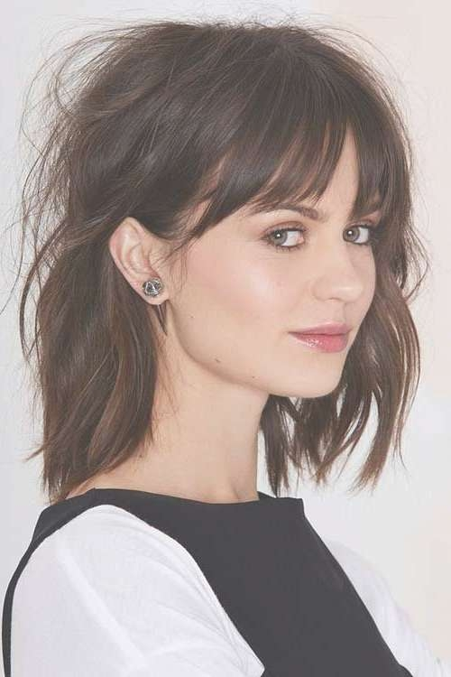 Best 25+ Bob Hairstyles With Bangs Ideas On Pinterest | Short Bobs With Regard To Cute Bob Hairstyles With Bangs (View 9 of 15)