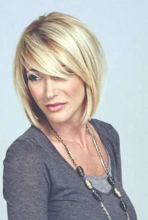 Best 25+ Bob Hairstyles With Bangs Ideas On Pinterest   Short Bobs Within Medium Bob Haircuts With Side Bangs (View 9 of 15)